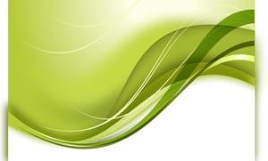 クール緑の背景